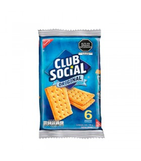 Galletas Club Social Nabisco Clásicas Pack 6 Unid x 26 g