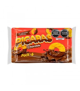 Galletas Pícaras Winter's Chocolate Pack 6 Unid x 40 g