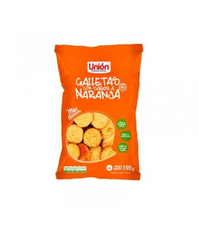 Mega Galleta Sabor Naranja Union
