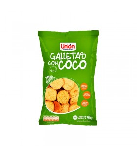 MEGA GALLETA CON COCO UNION