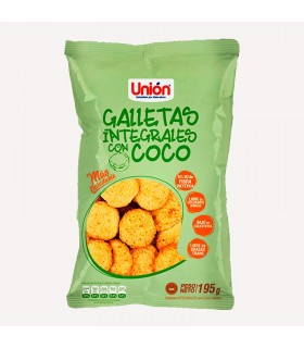 Mega Galleta Integral de COCO UNION