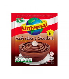 Pudin Sabor a Chocolate Universal