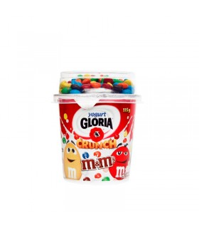 YOGURT BATTI MIX M&M GLORIA X 115 G R