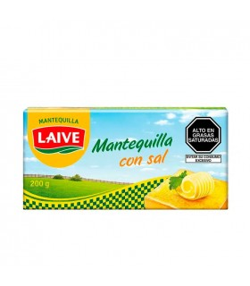 Mantequilla LAIVE con Sal Barra 200g